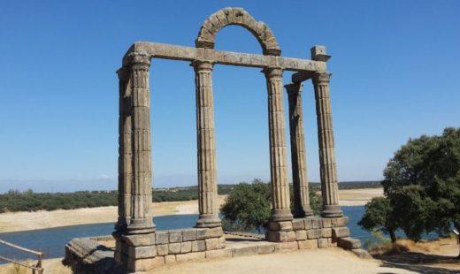 Arcos romanos en Bohonal de Ibor